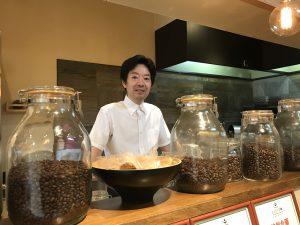 パーソナリティ藤井千代美がお送りするFMラジオでご紹介したカフェ所沢のキエイドー店主寺内さん