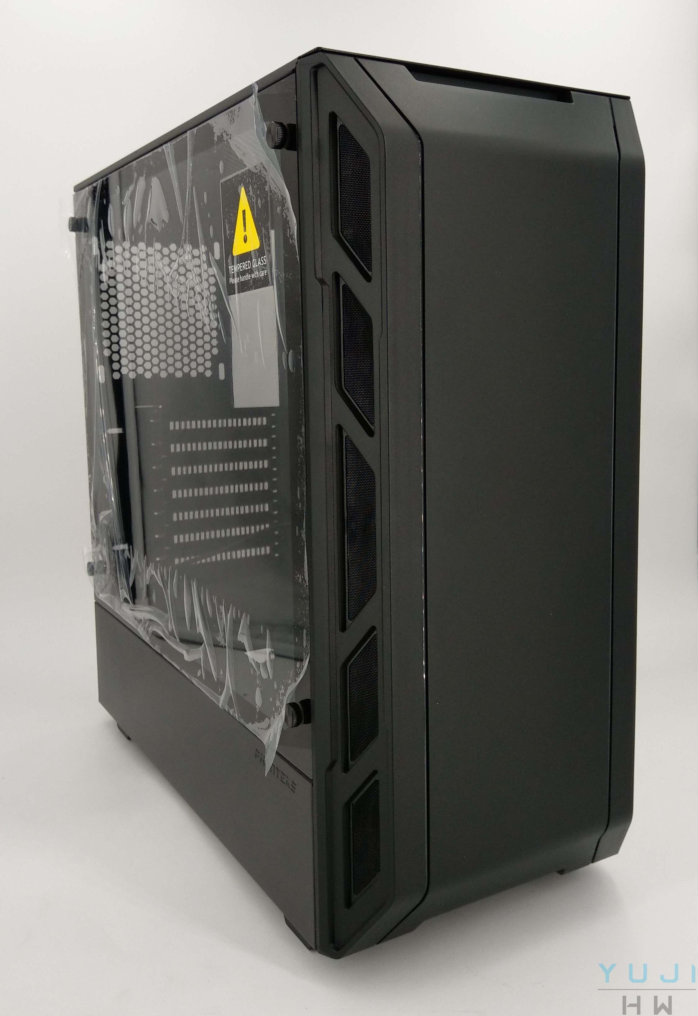 PHANTEKS ECLIPSE P350X 開箱測試   悠二硬件Yujihw - Part 2