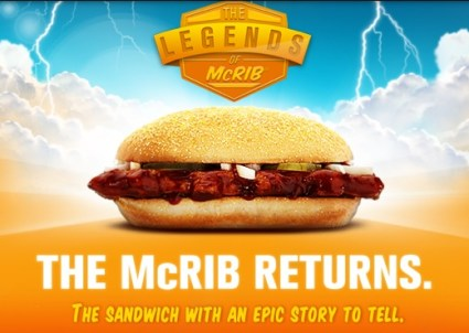 Farewell McRib Tour