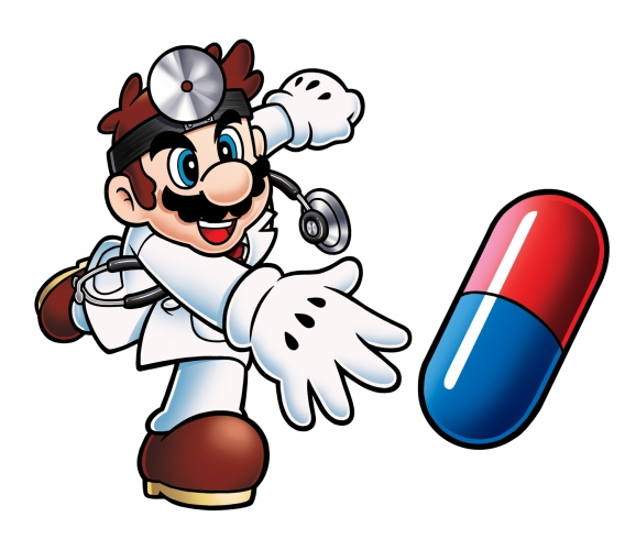 Image of Nintendo's Dr. Mario, Healthcare Games
