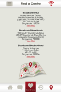 Red Cross Connection find a blood center