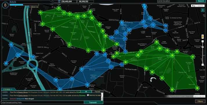 Octalysis Guest Post] The Alchemy of Ingress | Yu-kai Chou ... on the last of us map, egress map, abilene ks map, oracle map, scavenger hunt map, augmented reality map, google play map, success map, fire emblem awakening map, nineteen eighty-four map, show address on map, intelligence world map, seattle center area map, grand theft auto v map, abilene kansas city map, iris map, java map, eclipse map, wollongong australia map,