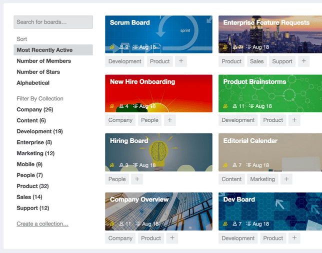 trello-collections