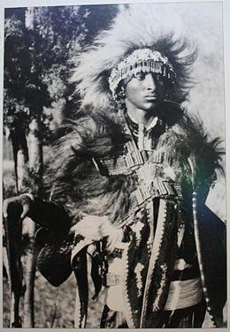 tafari_makonnen_dressed_in_warrior_garments