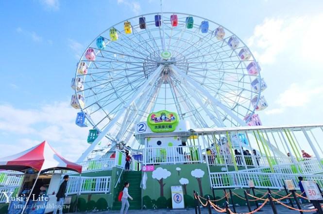 高CP值台北親子一日遊》台北兒童新樂園×科教館×天文館~玩到翻過來!