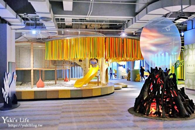 台南親子景點【南科考古館】這裡有球池兒童廳可以玩!繪本風拍照打卡點!