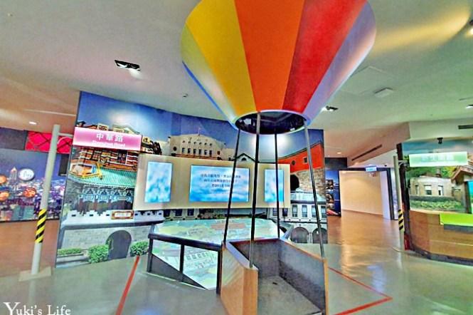 室內親子景點【台北探索館】台北捷運商圈多媒體互動×360度環形劇場