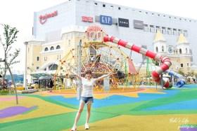 桃園親子景點【Taimall Park】2020最好玩的台茂購物中心兒童遊戲場!一站式吃喝玩樂超推薦!