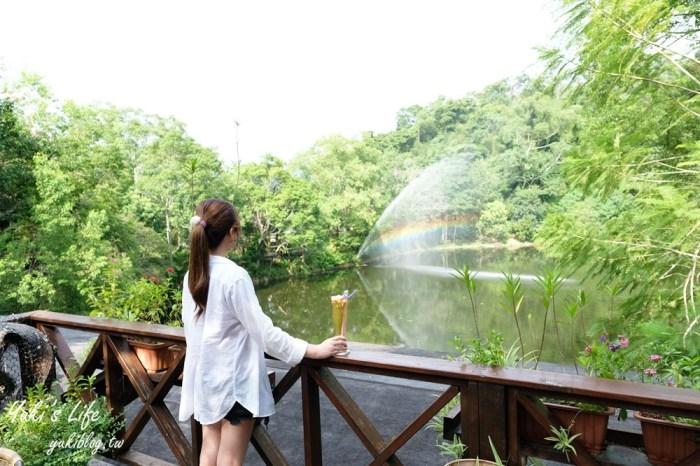 苗栗大湖【湖畔花時間】一隻大白鵝景觀餐廳、苗栗溫泉住宿會館