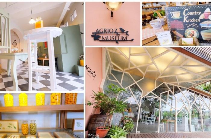 宜蘭景點【橘之鄉AGRIOZ】免門票南法風情觀光工廠vs生津金棗茶免費喝
