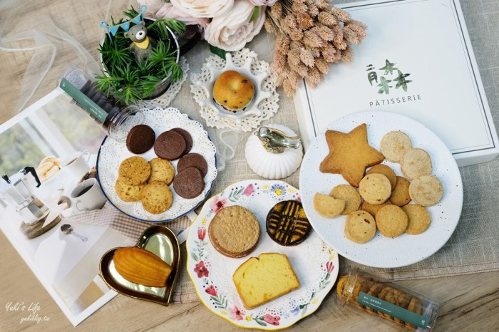 手工喜餅推薦》二月森甜點工作室~結合法式與台灣風味,有溫度的客製化禮盒
