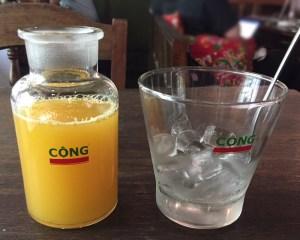 ベトナム カフェ コンカフェ パッションフルーツ