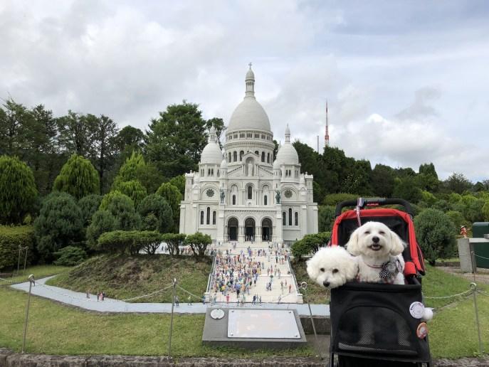 【東武ワールドスクウェア】で犬と一緒に世界を回ろう【日光】 サクレクール寺院