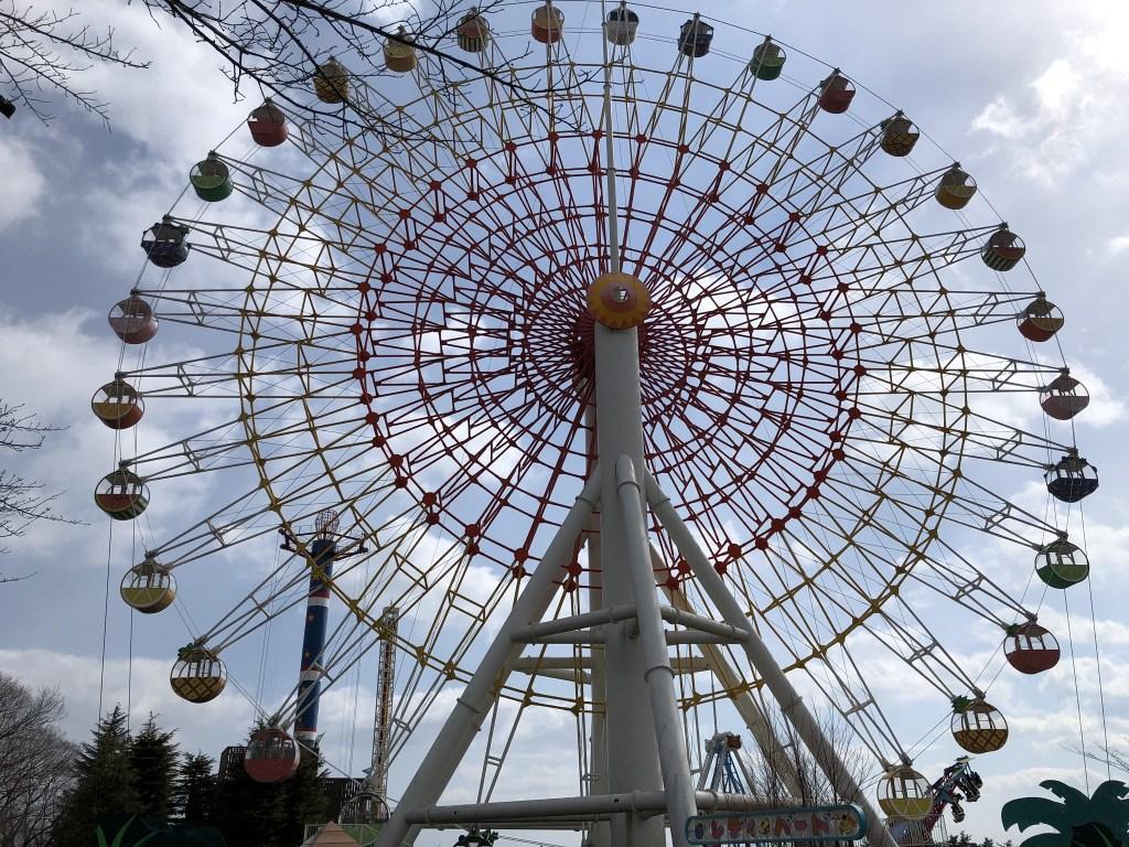 【那須ハイランドパーク】犬と乗り物であそべる遊園地の楽しみ方 観覧車