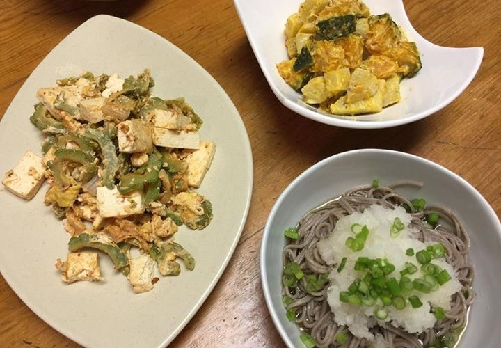 本日の和風な夕食