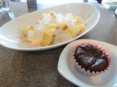 お米deガトーショコラ!自然解凍が便利!小麦・乳アレルギーっ子でも大丈夫なチョコレートカップケーキ