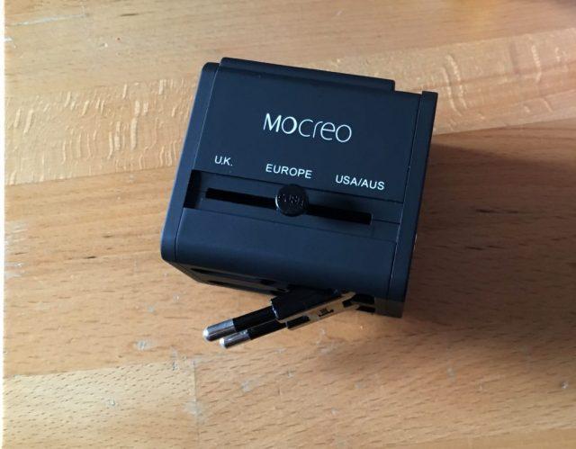 MOCREO®安全旅行充電器 海外旅行用変換プラグ EUROPEの説明1