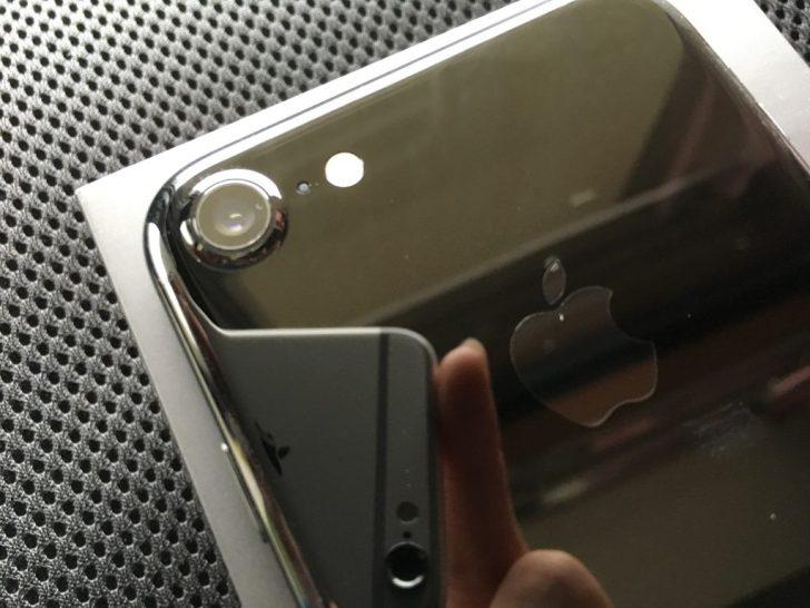 iPhone7のカメラ部分。