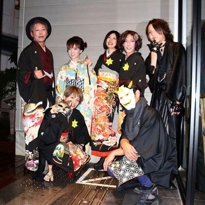 kimono Masquerade 2017 by kimono meetup!