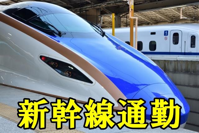 新幹線通勤。座れるの?メリットデメリットも。~スキー視点通勤①~