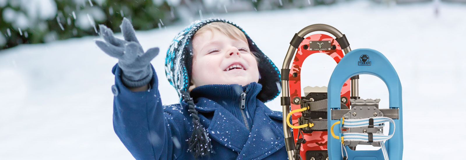 Snowshoes, Trekking Poles, Sleds, and Traction Aids by Yukon