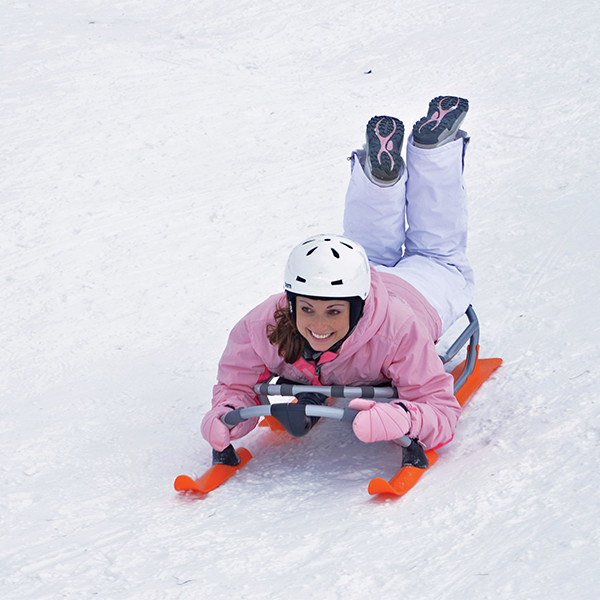 Hammerhead Sled In Action (orange)
