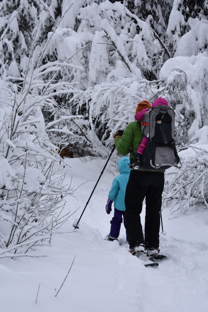 Snowshoeing With Kids: Bring Extra Everything