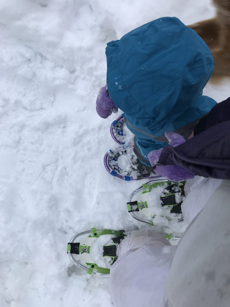 Snowshoeing with Kids - Set Standards Accordingly