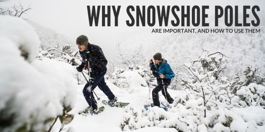 Why Snowshoe Poles are Important and How to Use Them
