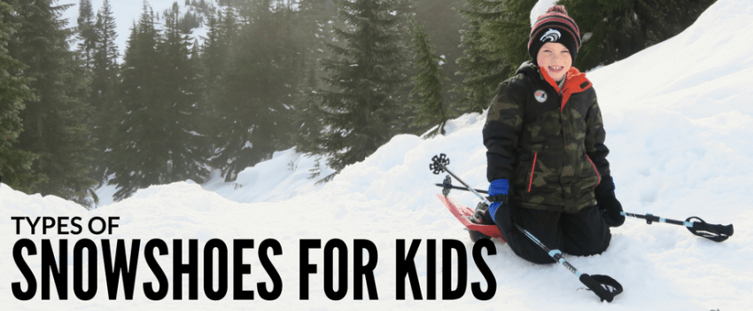 Types of Snowshoes for Kids