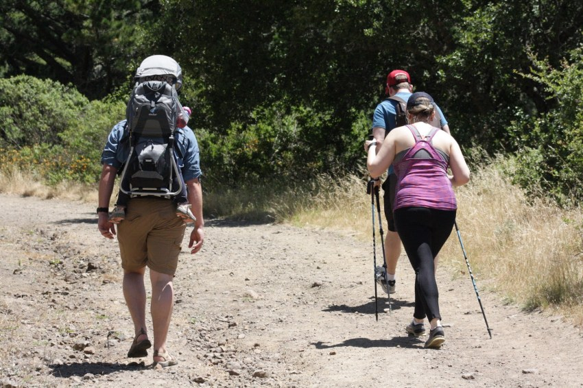 Hiking With Friends