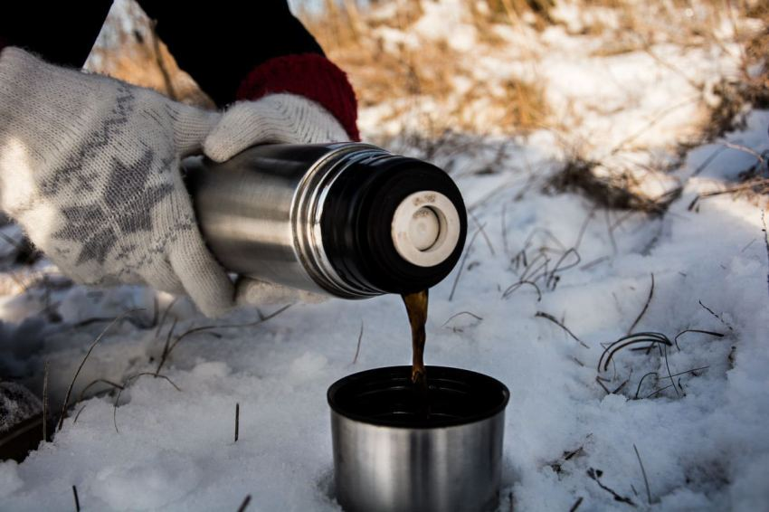 Pack Hot Coffee Cocoa for Winter Hikes