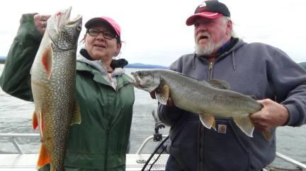 clients de Yukon Fishing Adventure