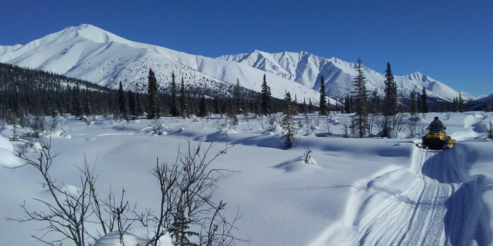 motoneige au Yukon