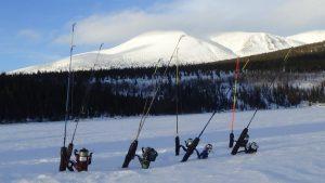 équipement de pêche blanche