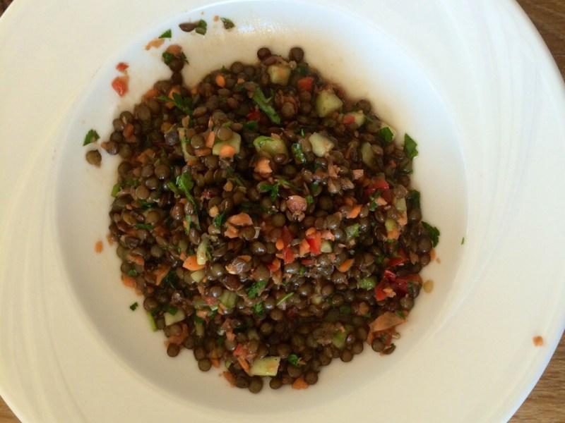 Image of Super Simple Summer Lentil Salad