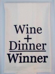 Wine + Dinner = Winner