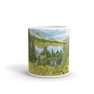 On the way to Carcross, coffee mug