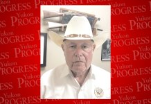 Sheriff, Canadian County, Yukon Progress, Yukon Review