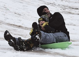 Snow, Yukon Progress, Yukon Review