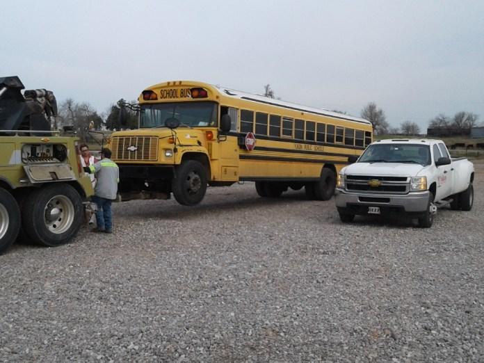 No injuries in Yukon school bus crash - Yukon Progress