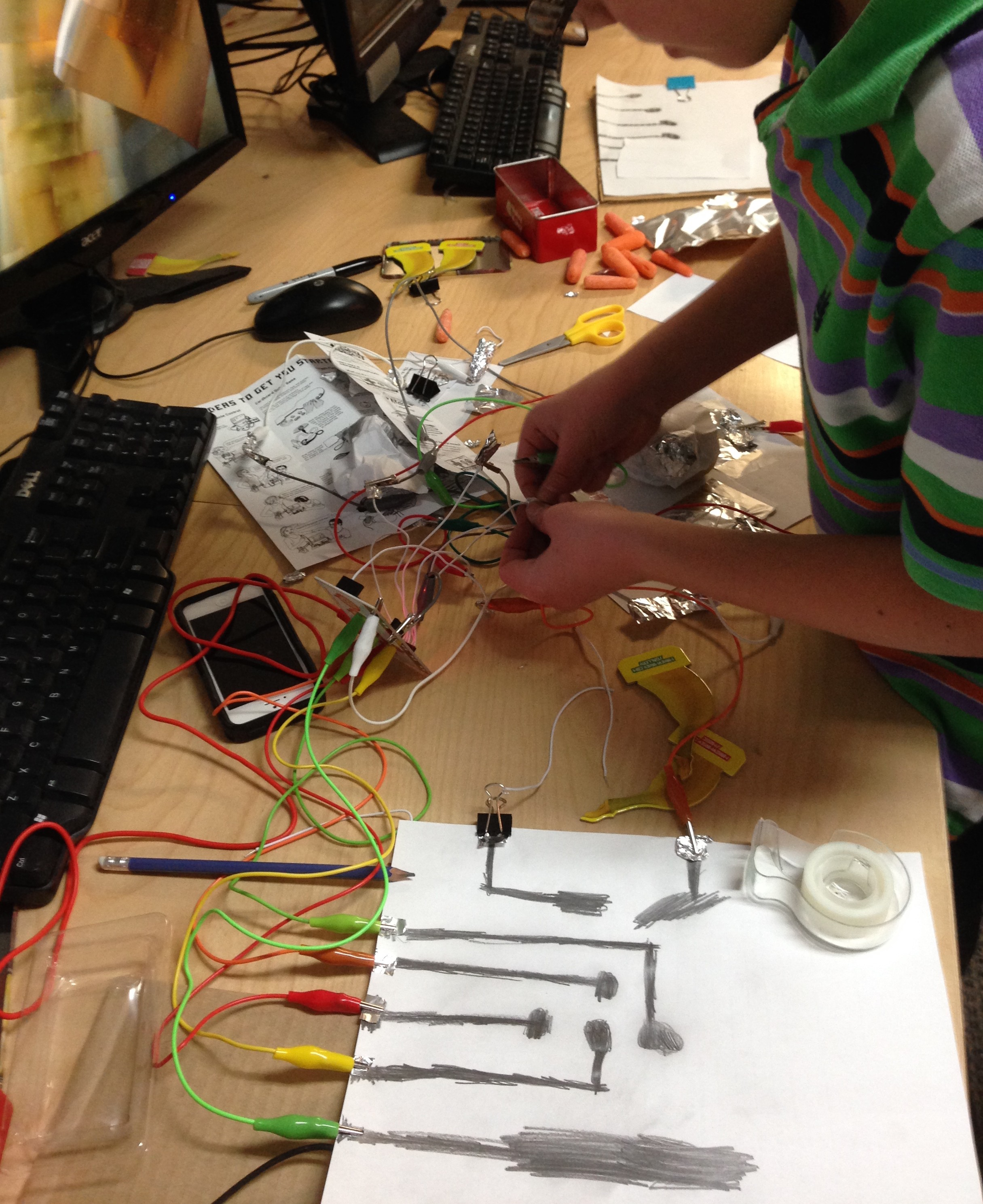 Spring Break Fun With Electronics Youth 8 14 Yrs Yukonstruct Circuit Scribe 3 During This 2 Hour Workshop We Will Explore Circuitry The Help Of Makey And Led Projects
