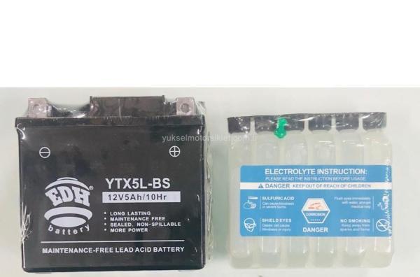EDH YTX5L-BS Sulu Akü