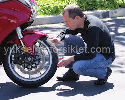 Motosiklet Lastik Kontrol