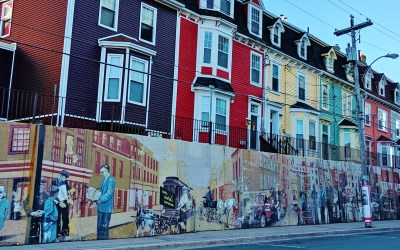 Colourful St. John's Newfoundland