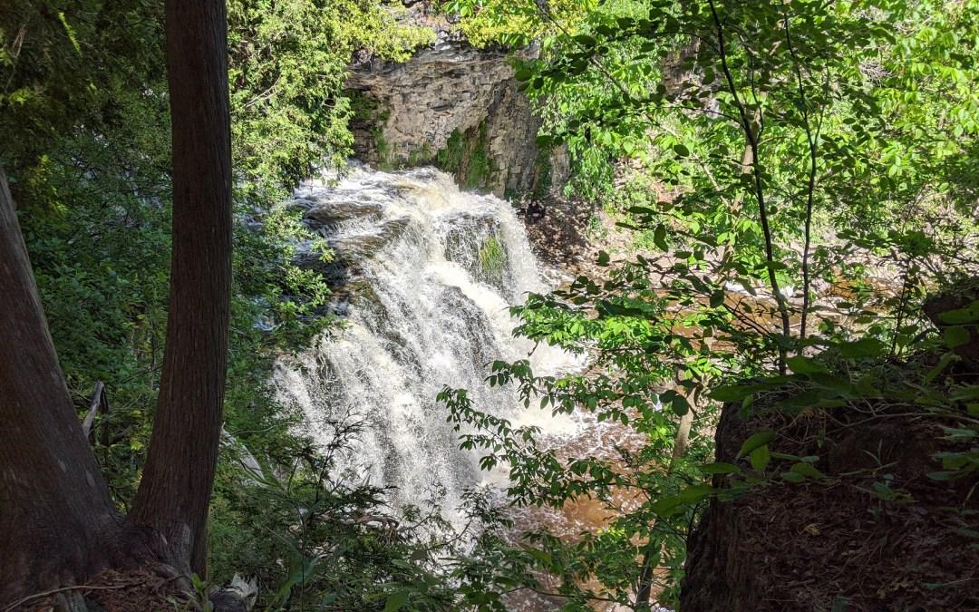 Jones Falls in Owen Sound Ontario