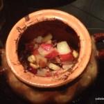 Запеченные яблоки с кокосовой манной, сиропом агавы и сухофруктами. Быстро, вкусно, полезно!