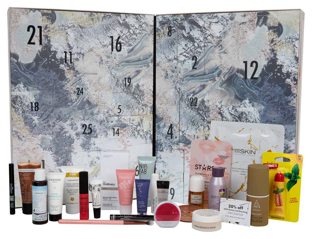 asos-beauty-advent-calendar-2017-contents-review