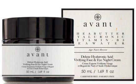 Avant Skincare Deluxe Hyaluronic Acid Vivifying Face and Eye Night Cream