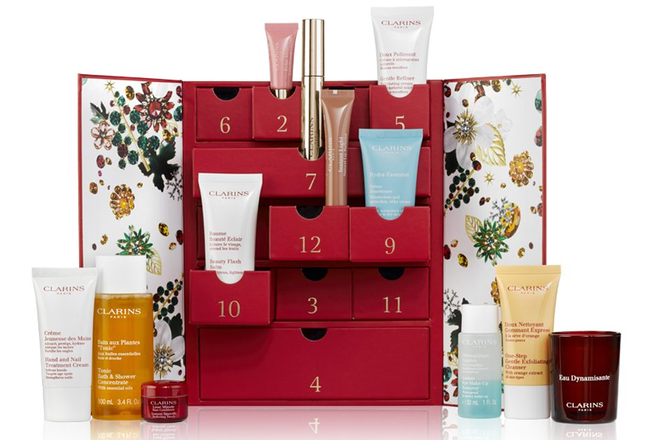 clarins advent calendar 2017